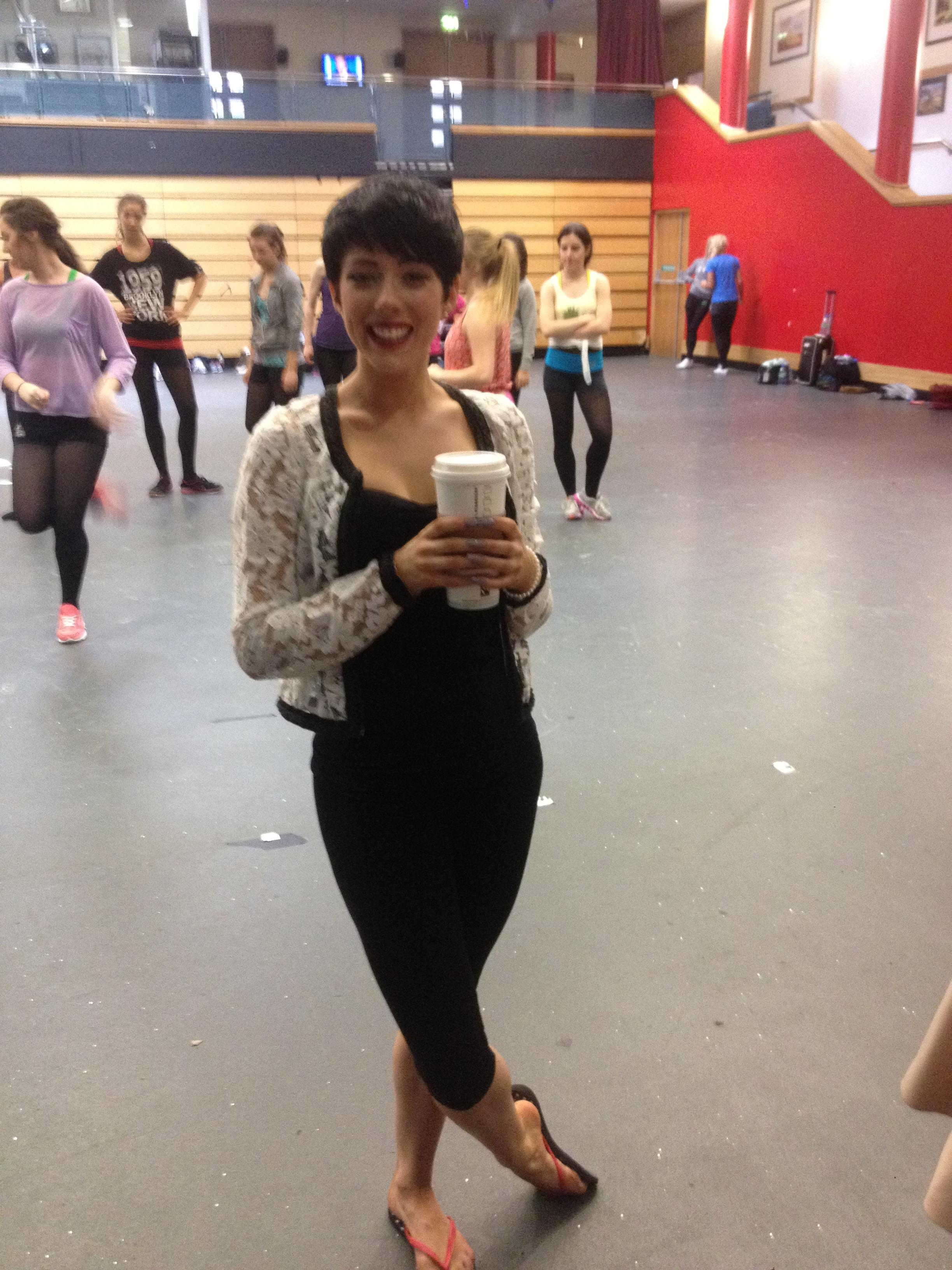 Ciara sexton working hard on choreography take the for 1234 get on the dance floor actress name